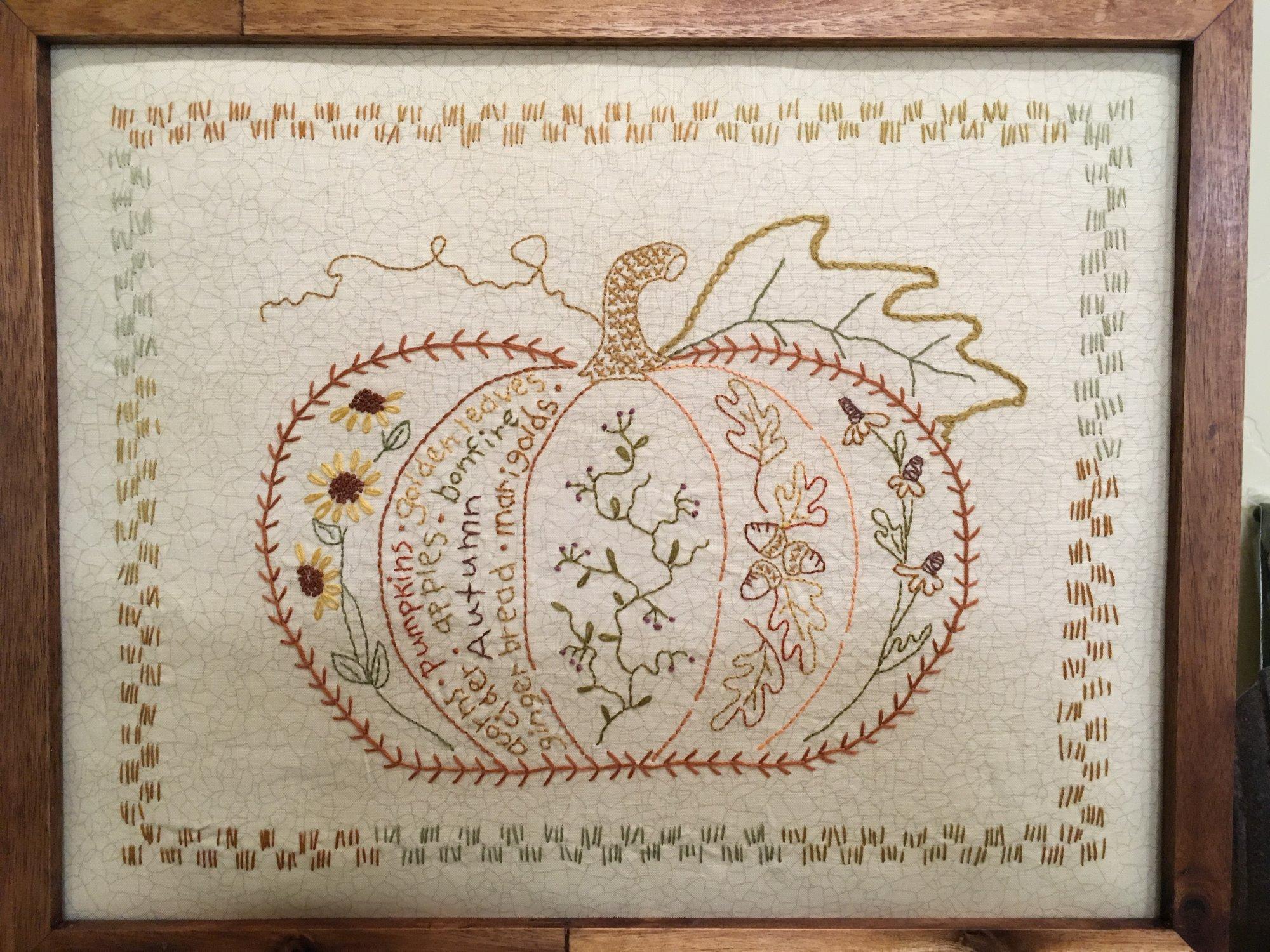 Autumn Harvest Pumpkin -kit