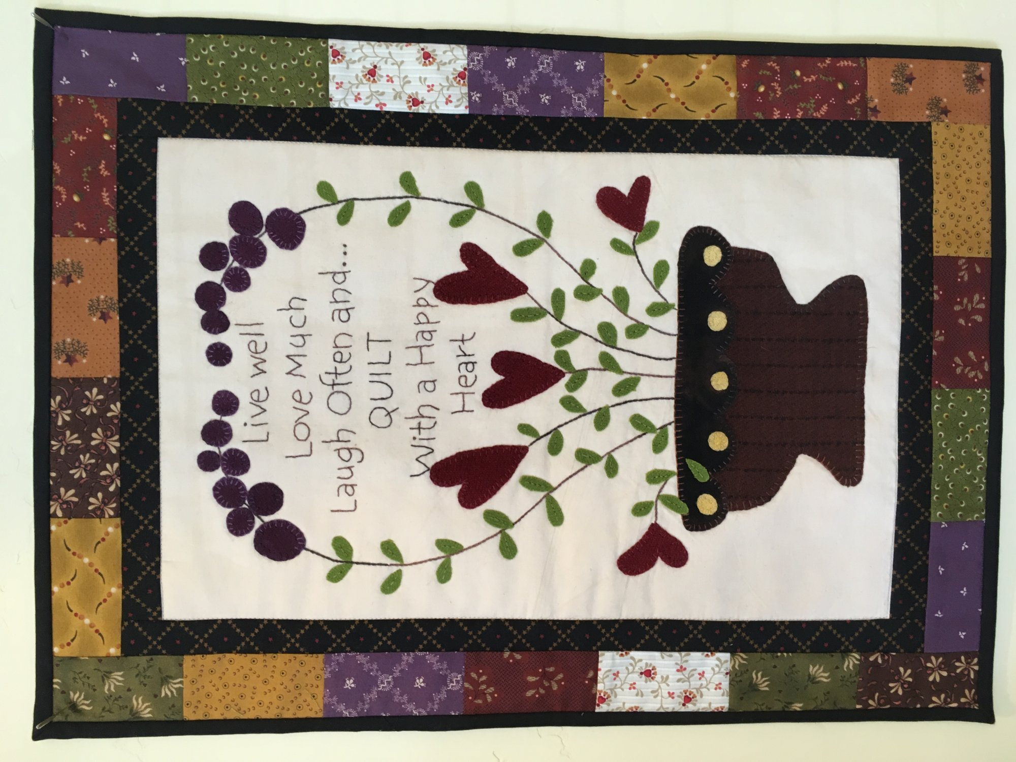 Quilt with a Happy Heart -kit