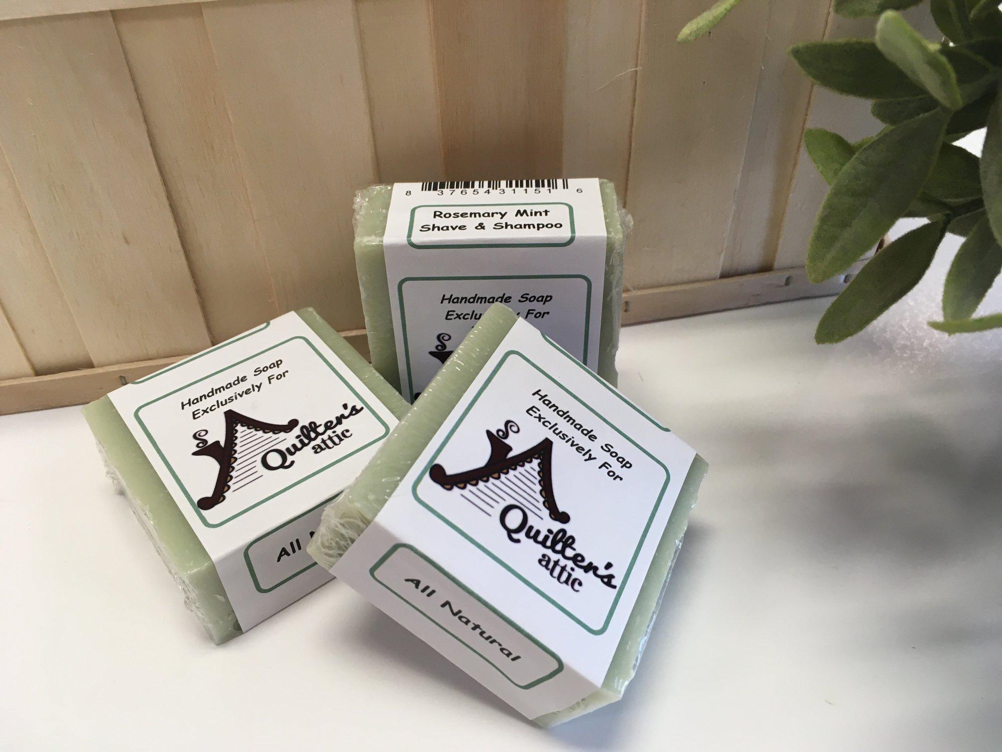 Homemade Soap - Rosemary Mint