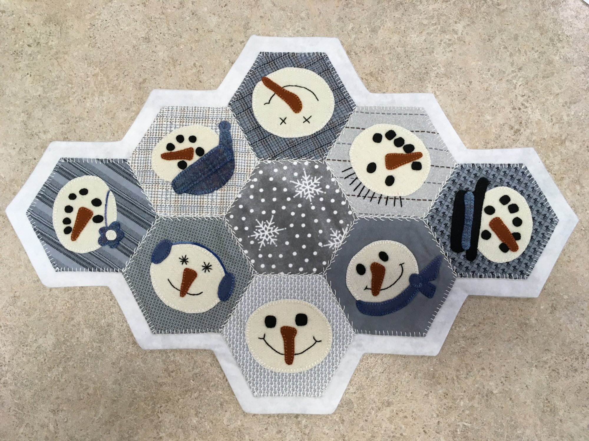 Snow Buddies Table Mat -kit