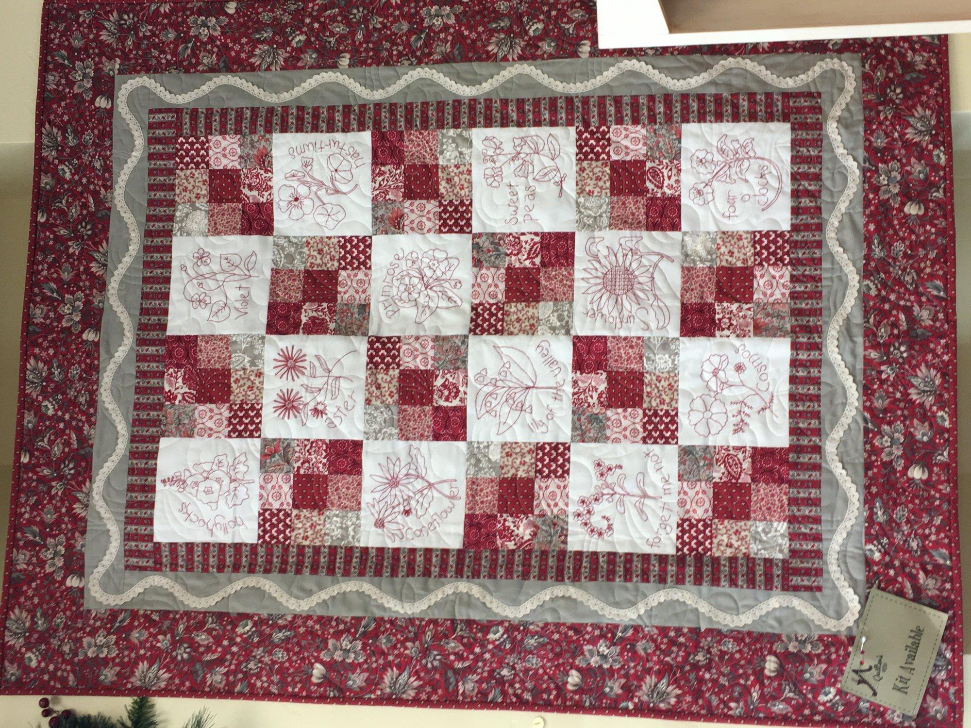 Chefarcani & Pam's Nine Patch -kit