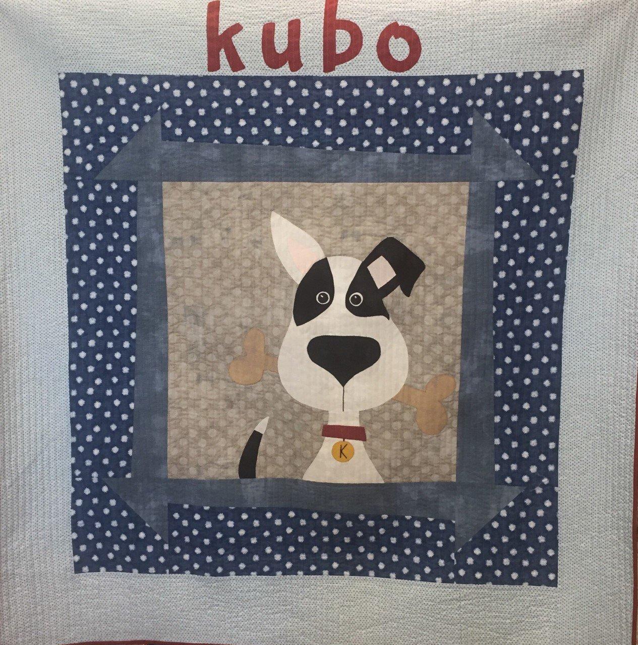 Kubo Dog Quilt -kit