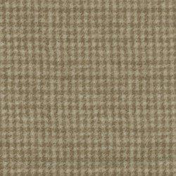 Woolies Flannel - Lt Brown Houndstooth