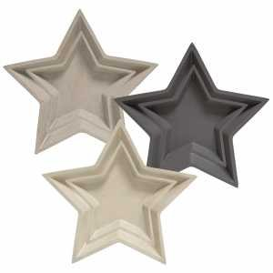 Star Resin Tray 12-1/2 - Pewter