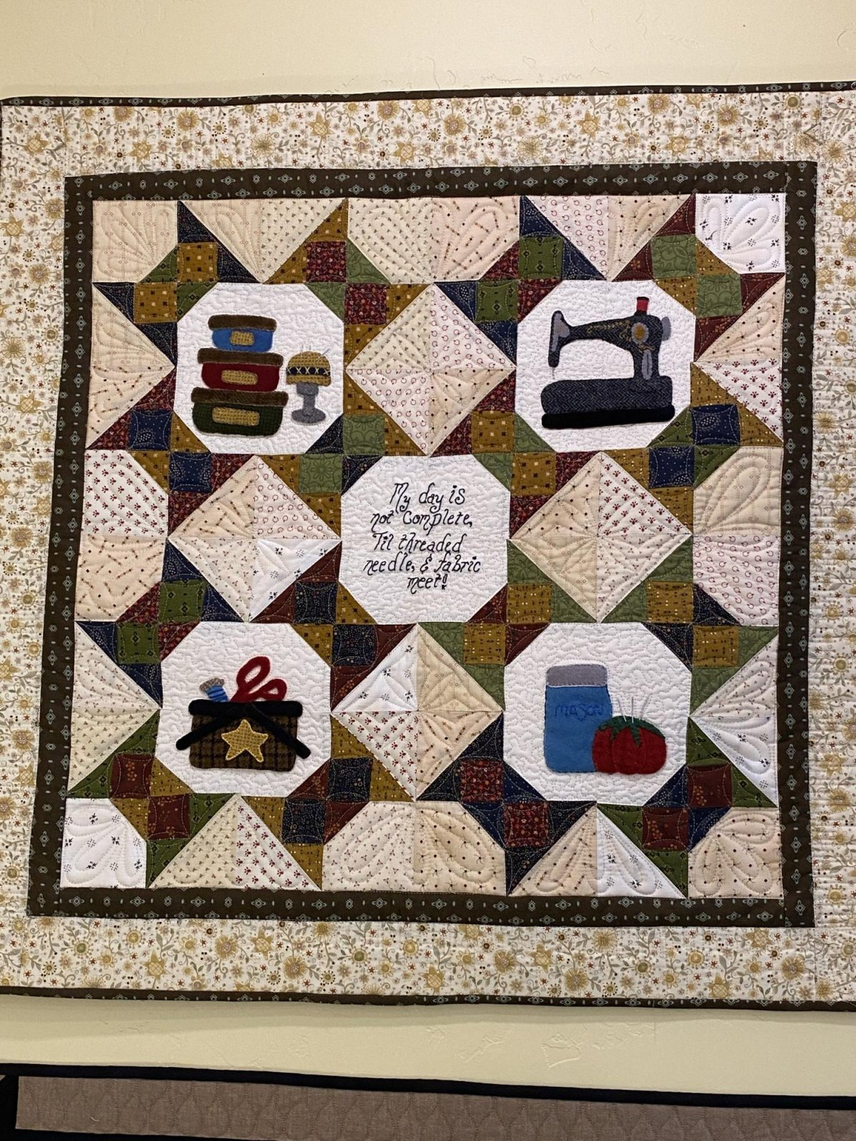 A Notion to Quilt pattern