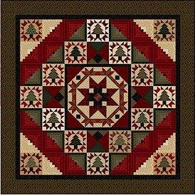 Pieceful Pines -pattern