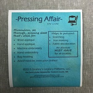Pressing Affair - 18x18