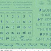 Calico Days calendar Mint