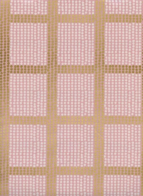 Cotton & Steel - Imagined Landscapes - the Avenues Rose Gold