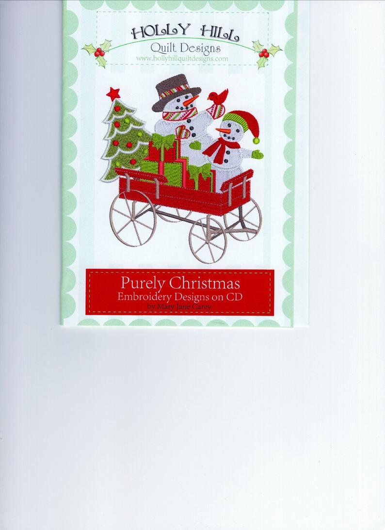 Holly Hill Purely Christmas - Embroidery Designs CD