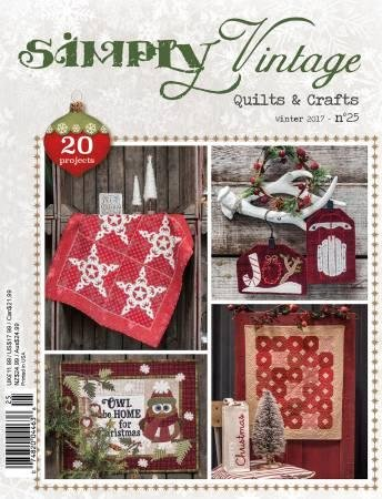 Simply Vintage Quilts & Crafts - Winter 2017