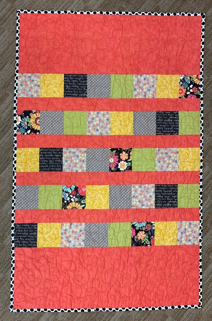Watermellon Charm Stripe 36 x 55