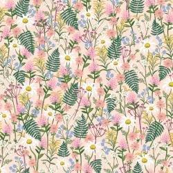 C&S Wildwood Wildflowers pink