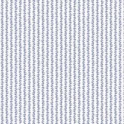 Strawberry Fields Laurel Stripe - Ivory/Blue
