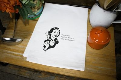 Flour Sack Towel - Yes I sew...