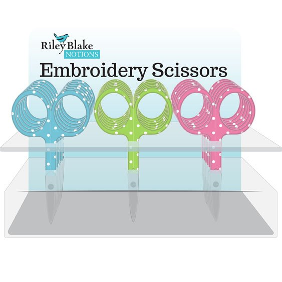 Embroidery Scissors 3-1/2 rounded