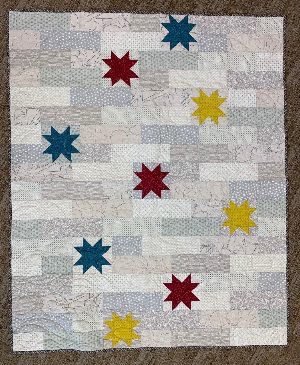 Stellar Quilt 44x53