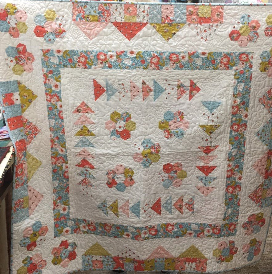 Flower Garden 2020 Shop Hop Quilt Kit