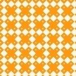 Aunt Grace Basket of Scraps - orange squares