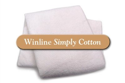 Winline Bleached 100% cotton batting-white