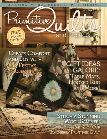 Primitive Quilts and Projects Winter 2016