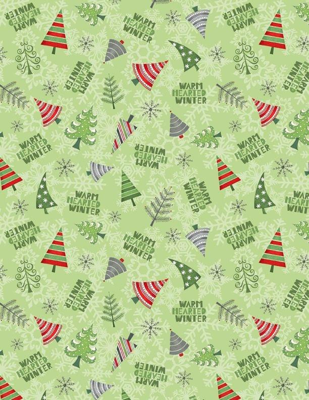 Winter Gnomes - Tree Toss Green