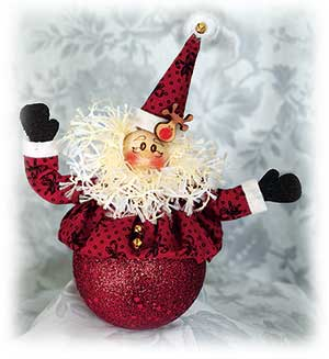 Cranberry Santa Ice Cream Shot