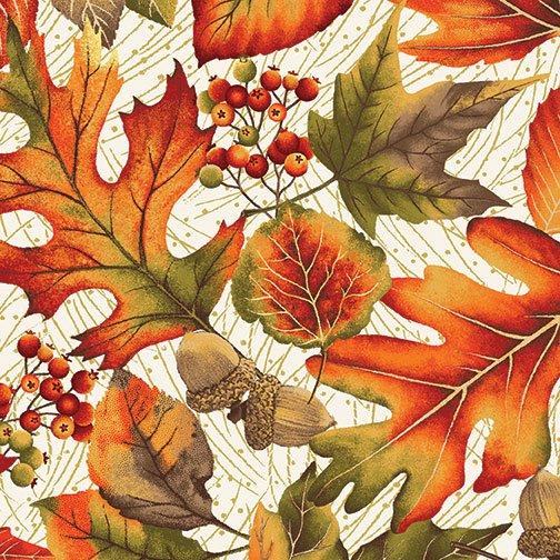 Autumn Leaves Allover Cream
