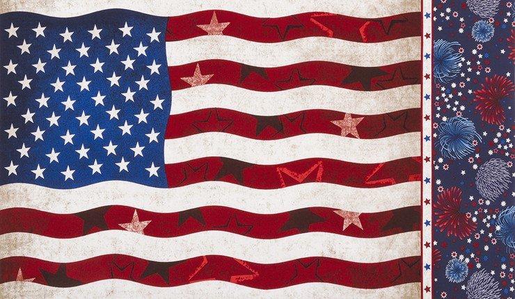 Patriots Flag Panel