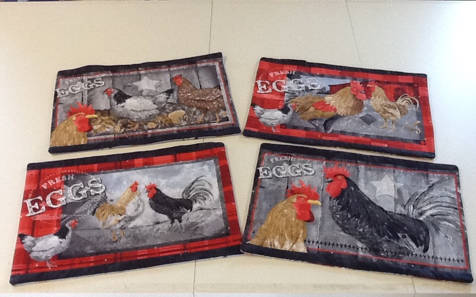 Chicken Placemats Kit