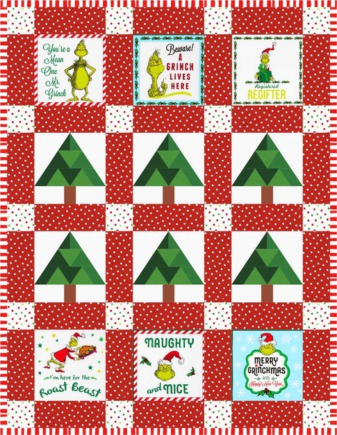 Grinch Forest Kit