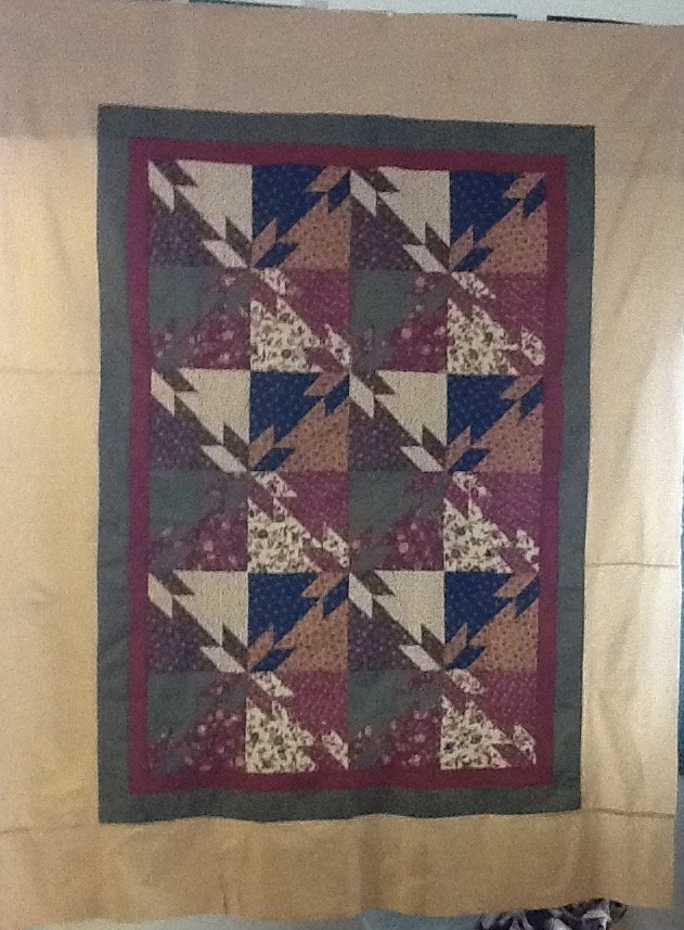 Natures Glory Twin Quilt Kit