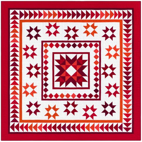 Medallion March Quilt Kit