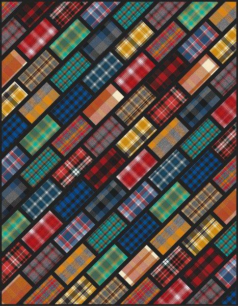 Cobblestone Street Quilt Kit