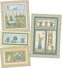 My Secret Garden Wall Hanging kits