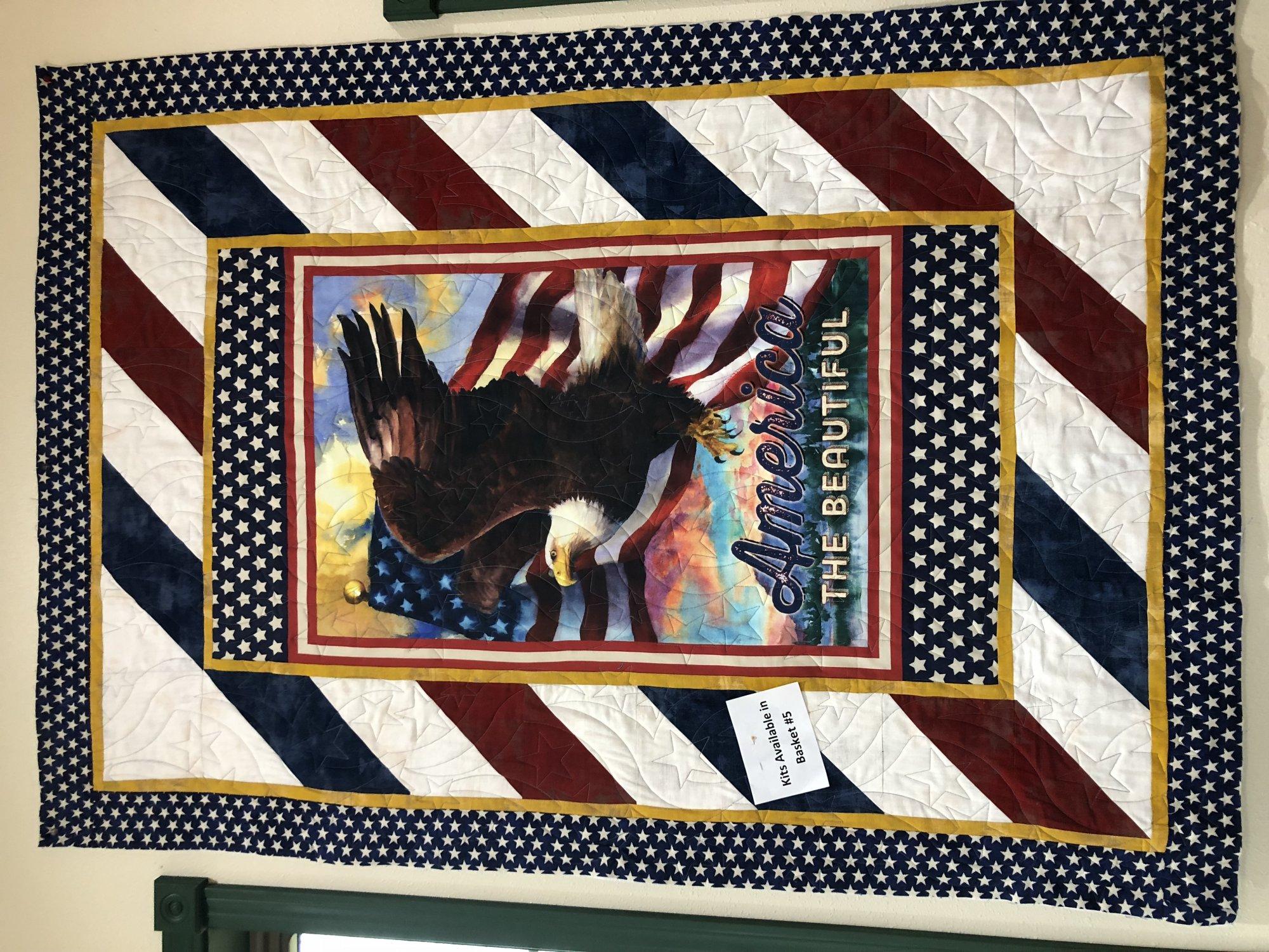 Patriots Eagle - Angled Up Kit