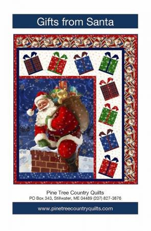 Gifts from Santa Lap Quilt Kit