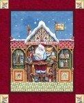 Jim Shore Santa Elf Panel