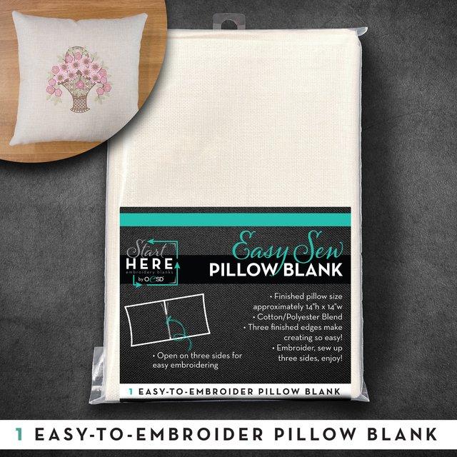 Easy  Sew Pillow Blank Linen