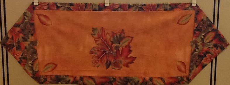 Fall Applique 10 Minute Table Runner