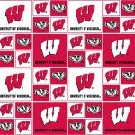 College Prints Wisconsin Badgers