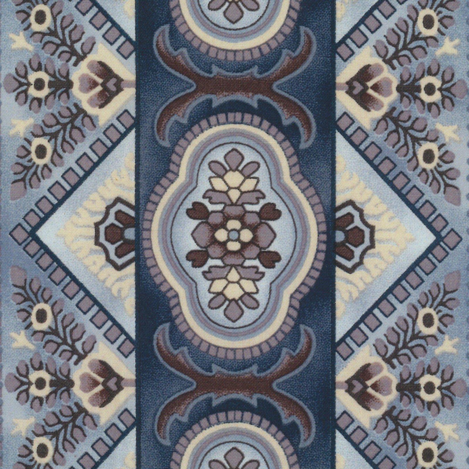 Charlotte Oval Stripe DUSTY BLUE