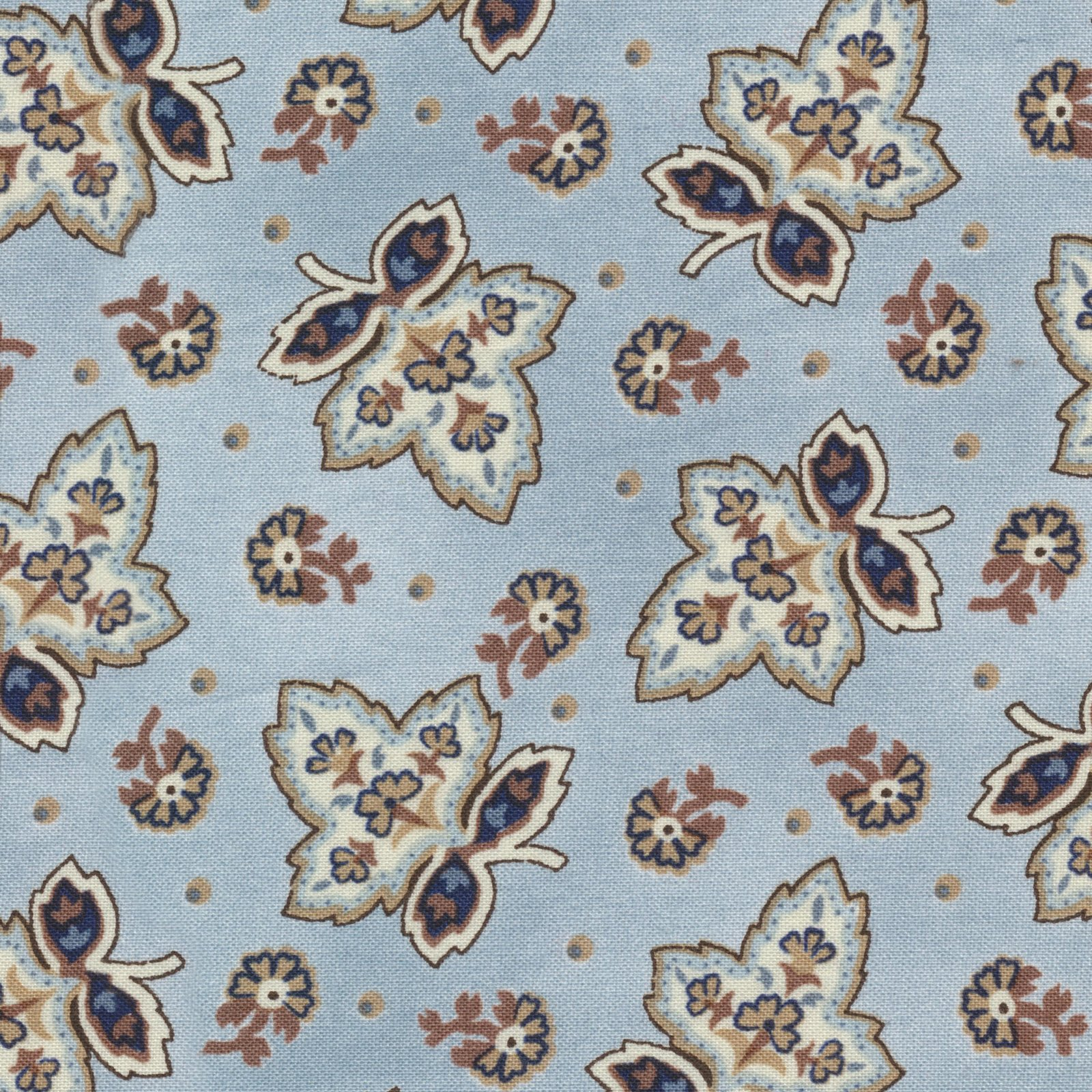 Charlotte Leaf DUSTY BLUE