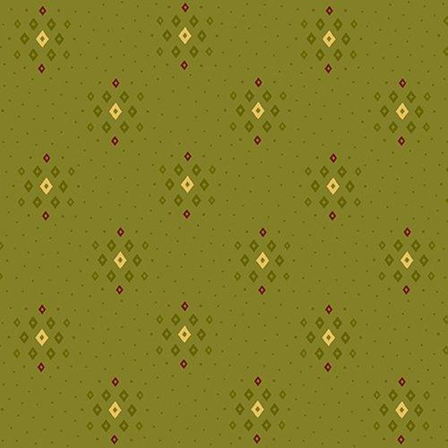 Farmhouse Christmas  Green Diamond Clusters by Kim Diehl