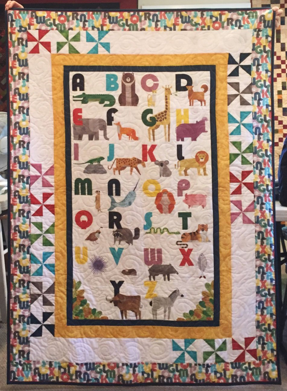 ABC Animals Quilt Kit