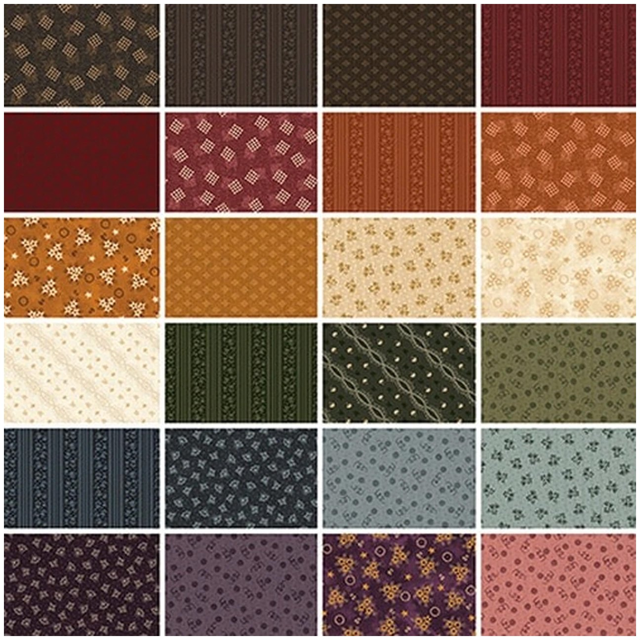 Abby's Treasures Complete Fat Quarter Bundle