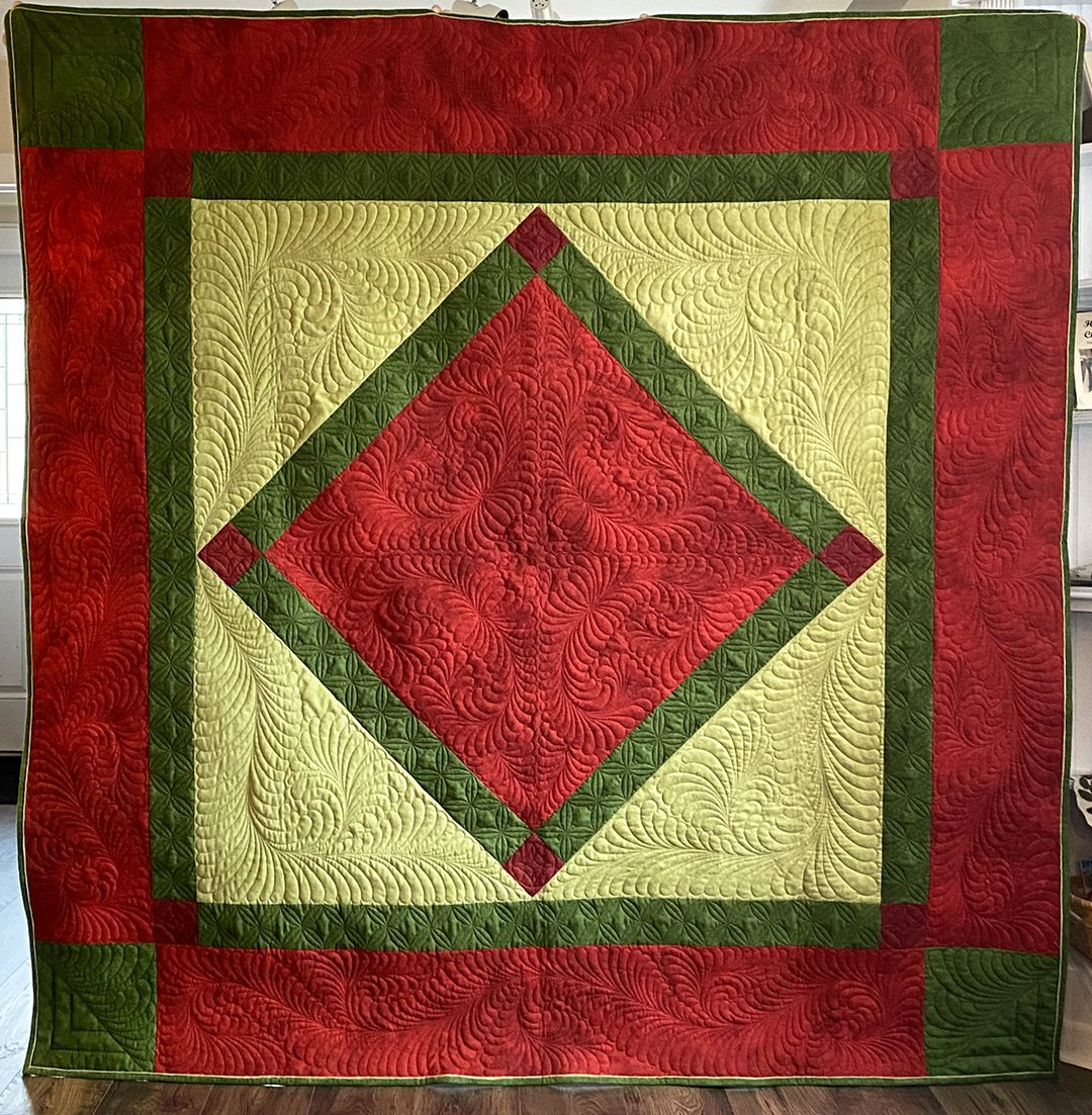 Amish Christmas Quilt Kit