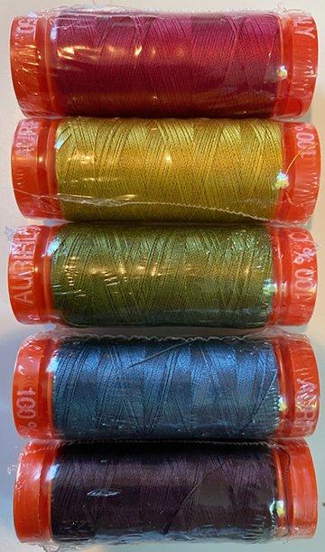Aurifil Katie's Colors Thread Kit