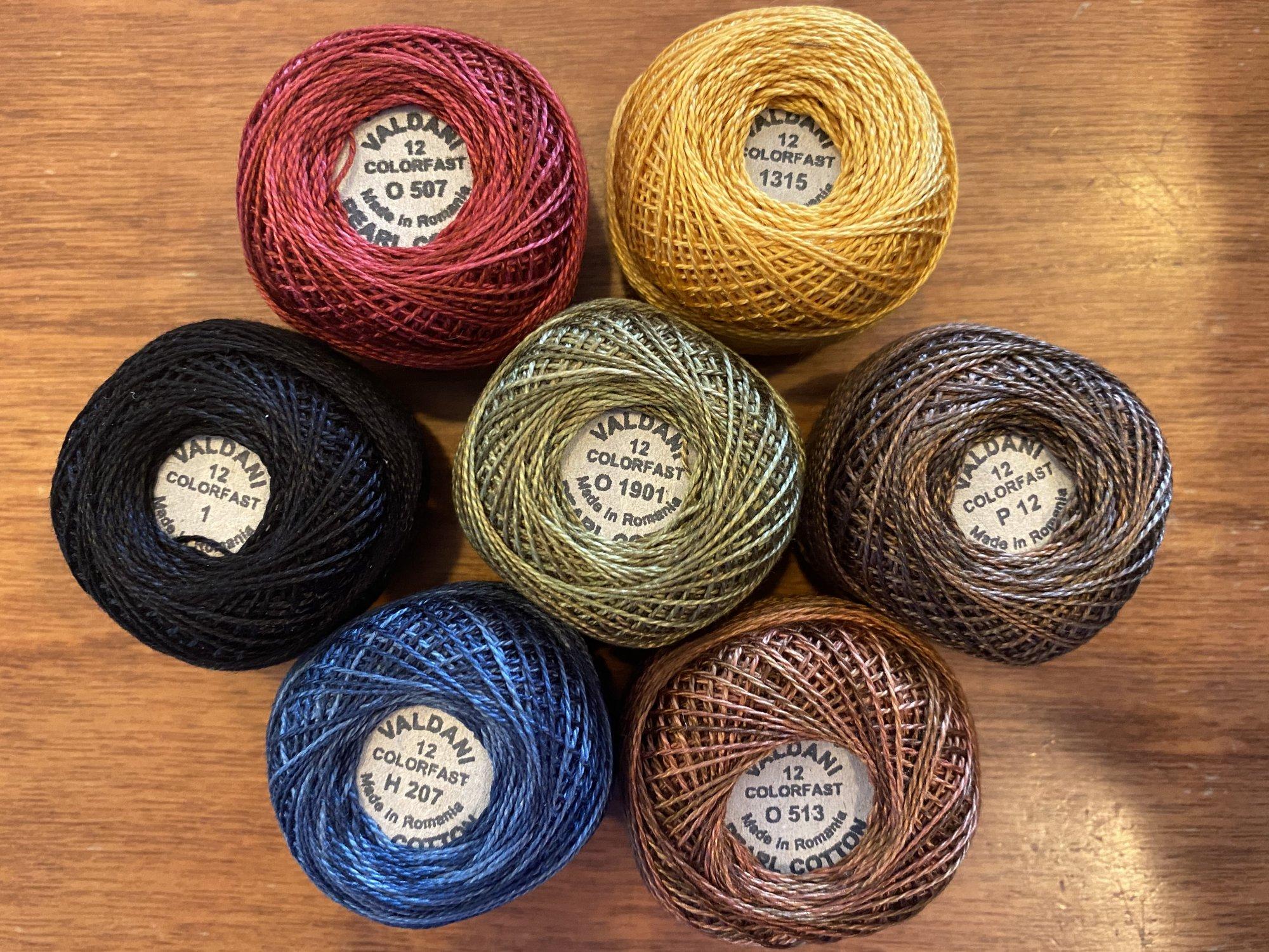 Autumn Spice Thread Kit