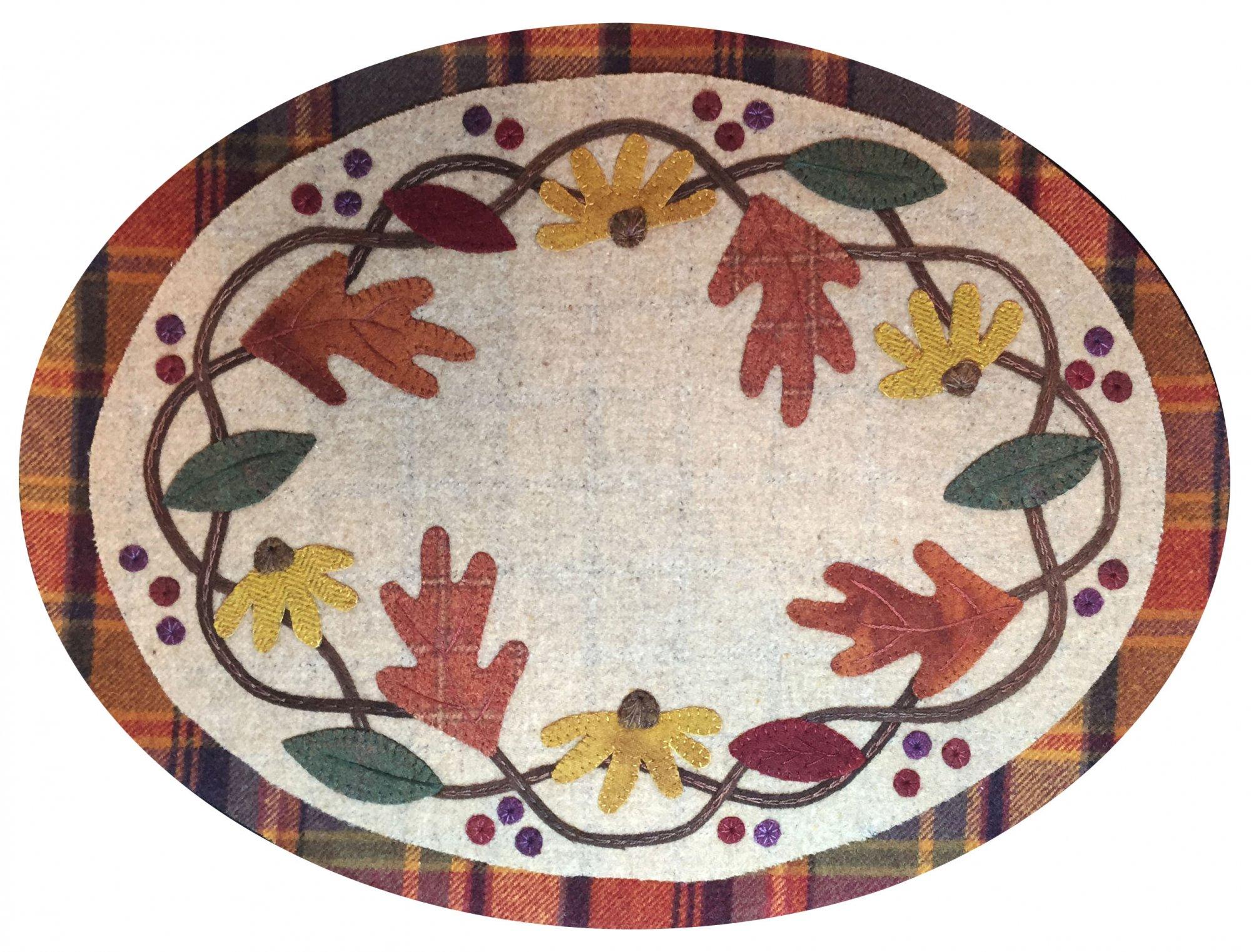 Autumn Splendor Wool Mat Kit
